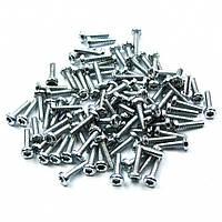 Винты  T6 серебристые 1,5х6 мм (упаковка 100 шт)