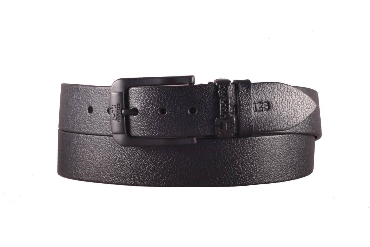 Hermes №4 кожаный черный ремень