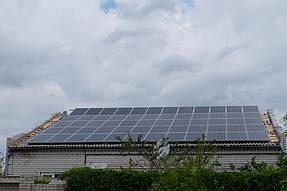 Сетевая солнечная станция 15 кВт г. Днепр 2