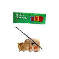 Игрушка деревянная Веселые магнитики-раскраски Животные