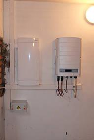 Сетевая солнечная электростанция г. Полтава 3