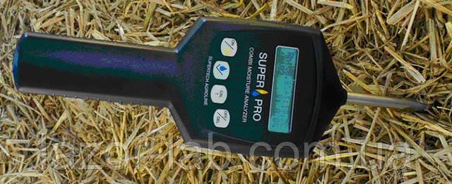 Измеритель влажности и температуры сена и соломы