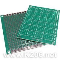 МАКЕТКА CRS-231 Плата макетная 50 x 70 мм Односторонняя