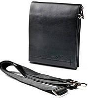 Модная мужская кожаная сумка планшет ST Для деловых серьезных людей Отличный подарок Код: КГ5296, фото 1