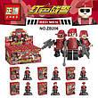 Лего военный спецназ red men elite forces zb206, фото 2