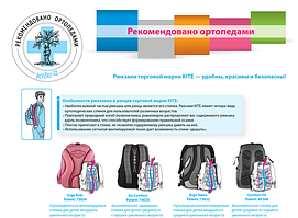 Правила эксплуатации рюкзаков и сумок Kite