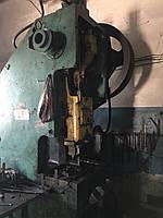 Пресс кривошипный КД2128К усилие 63т
