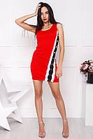 Платье Карелия, (3 цв), платье майка, гарна сукня, платье облегающее, дропшиппинг