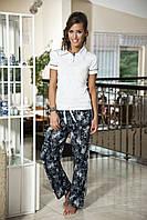 Женская пижама Shirly 5809, костюм домашний с повязкой на глаза для сна, фото 1