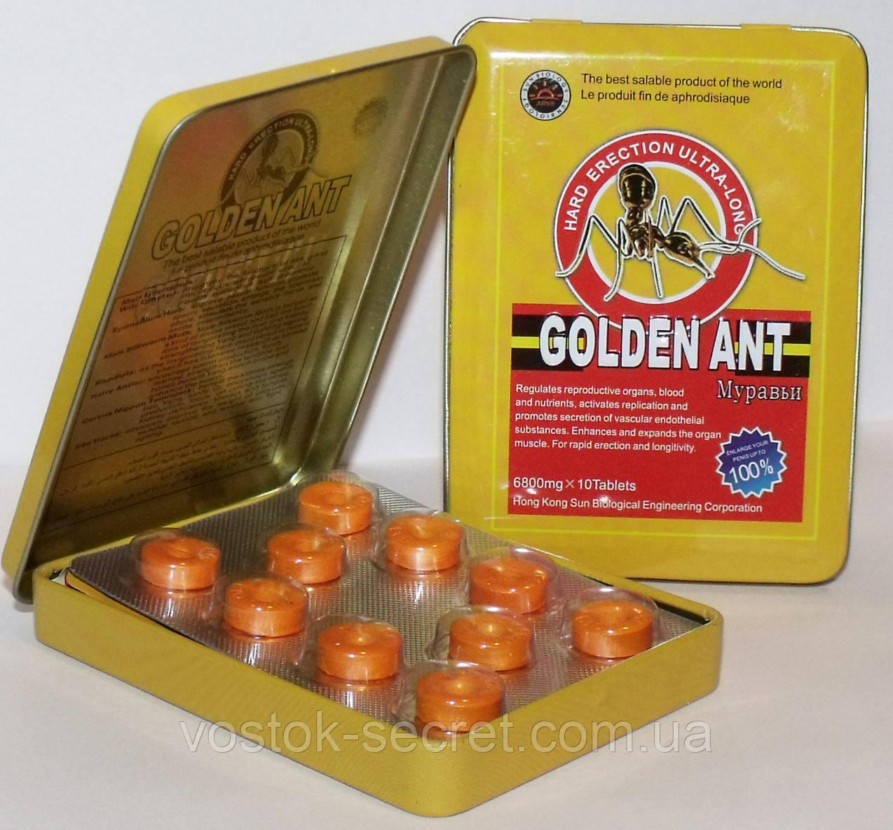 Препарат для потенции Golden Ant - Золотой Муравей