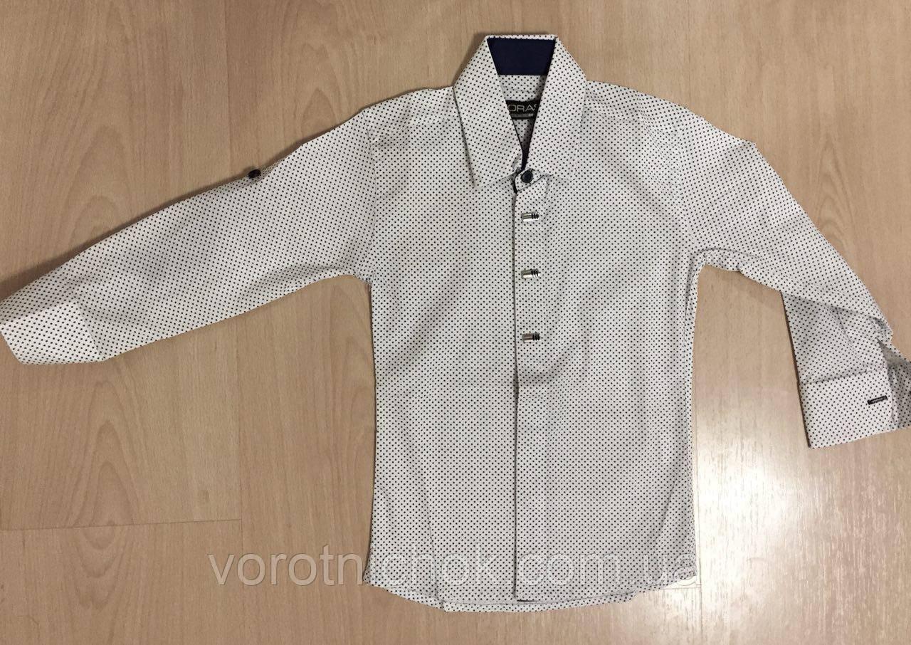 Детская рубашка для мальчиков 5- 9 лет