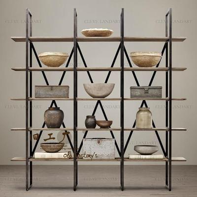 Полки, стеллажи, коммерческая мебель