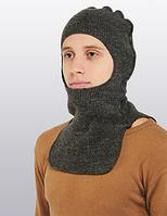 Балаклава-шлем (подшлемник) «Balaclava Helmet» с начесом из верблюжьей шерсти