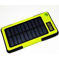 Power BANK Solar KVP 20000 mAh c дисплеем прямоугольный, фото 1