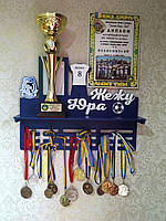 Медальница Футбол, держатель для медалей