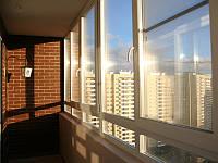 Застеклить лоджию, балкон Rehau Brillant с монтажом и доставкой, фото 1