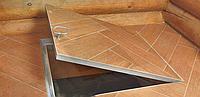 Підлоговий люк 700х700 на амортизаторах, фото 1