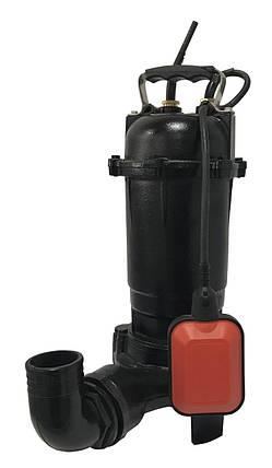 Насос фекальный с режущим механизмом VOLKS WQD 8-12G 0,9 кВт, фото 2