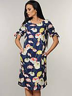 d2110862a00 Летнее платье женское короткое легкое вискозное (вискоза шифон)
