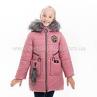 "Зимняя куртка для девочки ""Эмма"", Зима 2019 года, фото 1"
