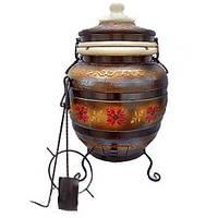 Тандыр модель №4 Тамерлан (коричневый) 80 литров, фото 1