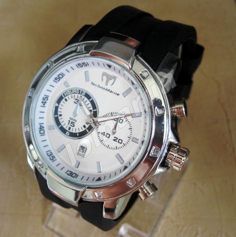 Мужские кварцевые часы дизайн TechnoMarine