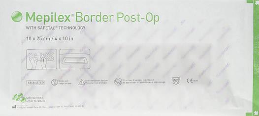 Mepilex Border Post-Op 10х30см самоклеющаяся послеоперационная повязка