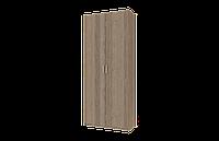 Распашной Гардеробный Шкаф 210*90*38 сонома трюфель