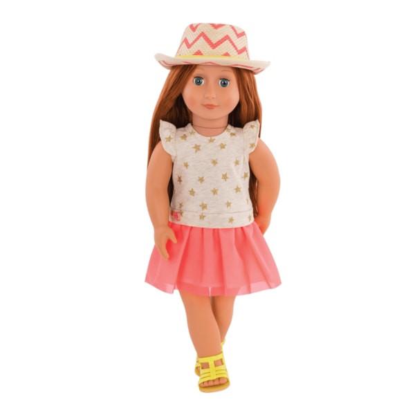 Кукла Our Generation Клементин 46 см в платье со шляпкой BD31138Z