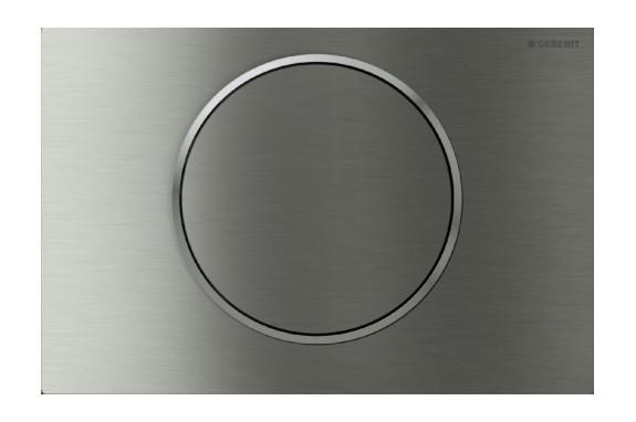 Geberit Sigma10 Смывная клавиша, бесконтактный смыв унитаза, 230В, двойной автоматический смыв
