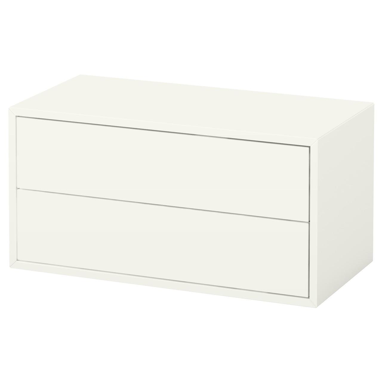 IKEA EKET (003.339.47) Книжный шкаф/2 выдвижных ящика