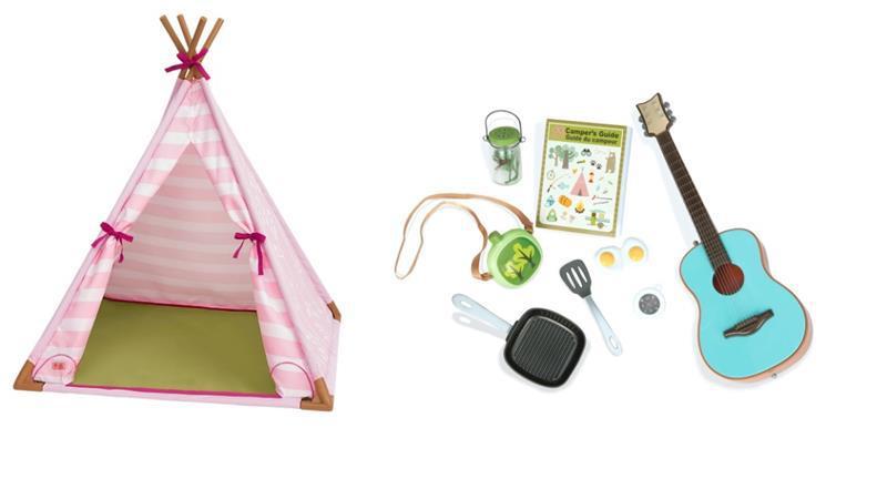 Набор аксессуаров Our Generation  Мини-палатка BD37209Z