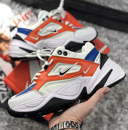 Женские кроссовки Nike M2K Tekno John Elliott. Живое фото (Топ реплика ААА+)