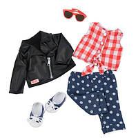 Набор одежды для кукол Our Generation  Deluxe Стильный кожанный жакет BD60031Z