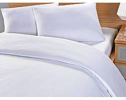 Комплект постельного белье AllSet бязь белая 150*210 100% хлопок