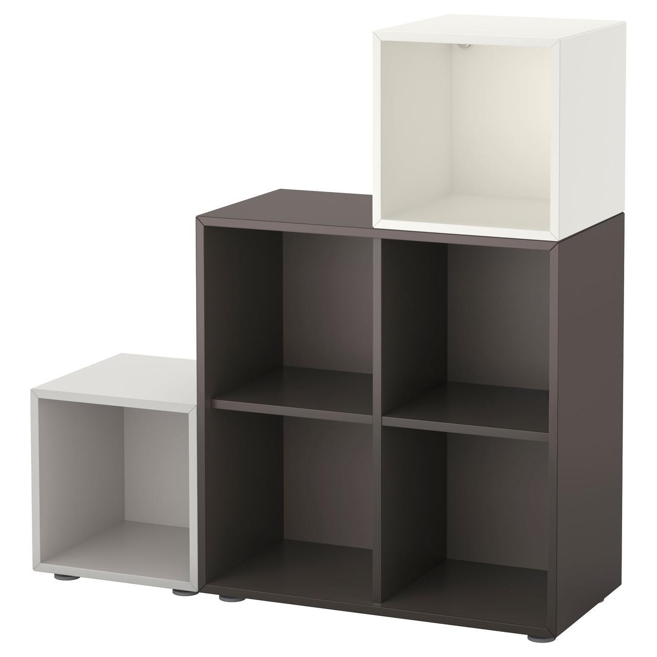 IKEA EKET (991.908.50) Комбинация Книжный шкафов с ножками