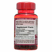 Ликопин, Lycopene 20 mg, Puritan's Pride, 60 капсул