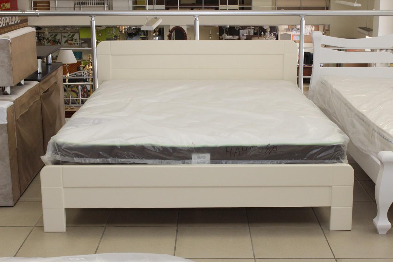 Кровать 2-х спальная деревянная