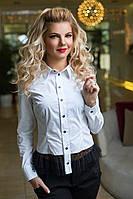 Нарядная белая Рубашка Дания, фото 1