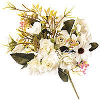 Нежный цветочный букет для декора 30 см