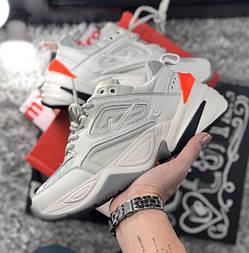 Женские кроссовки Nike M2K Tekno Phantom. Живое фото (Топ реплика ААА+)