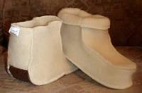 Сапожки шерстные домашние                                                            - из овечьей шерсти;
