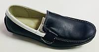 Детские и подростковые кожаные мокасины для мальчиков размеры 32,33,34,35,36,37,38,39,