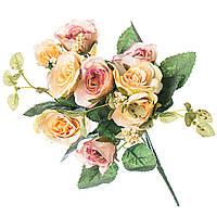 Декоративная композиция искусственных цветов 30 см