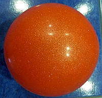 Мяч гимнастический с блестками (вес - 280 г, диаметр 15 - 16 см)