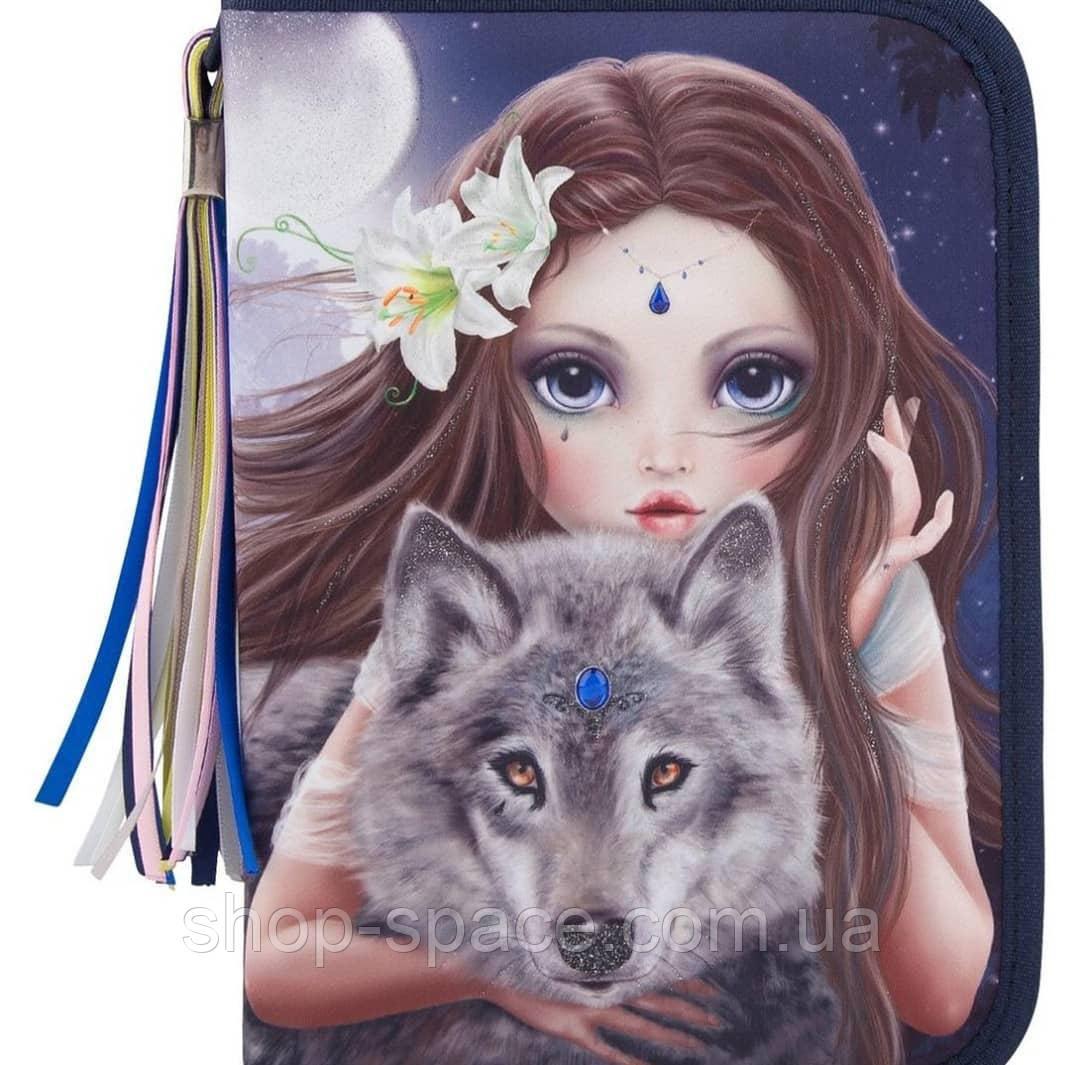 Пенал с наполнением Top Model Красочный Волк, Depesche.