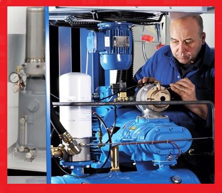 Сервисное (техническое) обслуживание винтового компрессора Atlas Copco (Атлас Копко) GA45, GA55, GA75, GA90