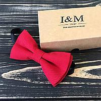 Галстук-бабочка I&M Craft Красный (0001R)