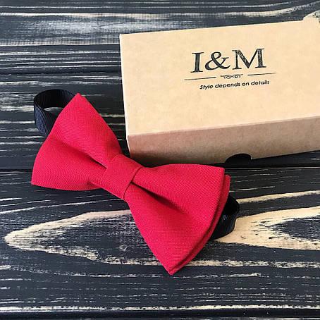 Галстук-бабочка I&M Craft Красный (0001R), фото 2