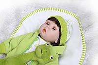 Кукла Реборн. Пупс кукла Reborn 53 см. Закрываются глаза, фото 1